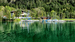 unused (++sepp++) Tags: plansee see lake landschaft landscape landschaftsfotografie berge breitenwang tirol österreich at tyrol austria boote boats spiegelung reflection grün green