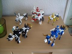 Noble Fusion Jagiełł'oh (Steel Beast Convoy) (Śląski Hutas) Tags: lego moc bricks ranger sentai animals mech robo futuristic scifi tokusatsu poland polska