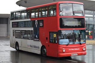 NXWM 4320 @ Wolverhampton bus station
