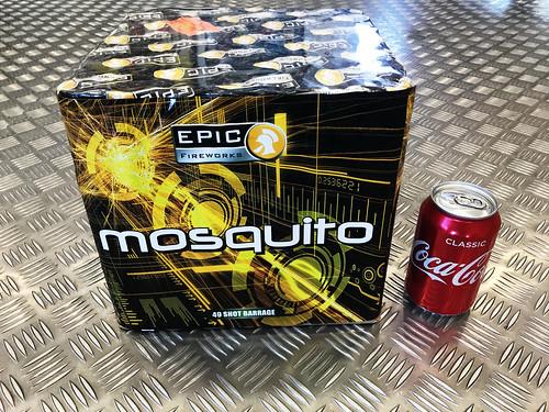 Mosquito 49 Shot 1.3G CE Firework Cake