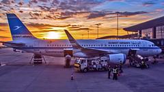 "Kuwait Airways Airbus A320 9K-AKG ""Bateel"" Bangalore (BLR/VOBL) (Aiel) Tags: kuwaitairways airbus a320 9kakg bangalore bengaluru canon60d canon24105f4lis sunrise dawn ramp"