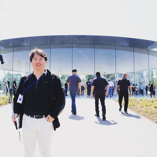 Sept. 12th, 2017 #AppleEvent photo taken by @taromatsumura