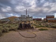 P8263965 (whyworry2010) Tags: bodie statepark california dusk sunset ruins shacks mining
