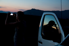 Sunrise (sdupimages) Tags: reflets reflection portrait lumière california deathvalley nuit night sunrise light