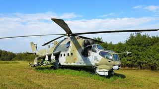 Mil Mi.24D c/n M340218 Czech Republic Air Force serial 0218