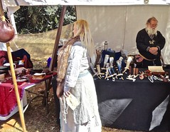 Medieval Event (*SIN CITY*) Tags: medieval canungra australia queensland qld medievaltimes lady tent pottery women man woman fun art old culture saga viking armour shield dress 7d canon sword horn shoppe beard