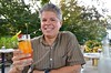 Enjoying A Pimm's Cup At The Chequit (Joe Shlabotnik) Tags: justpeter august2017 2017 peter shelterisland chequitinn afsdxvrzoomnikkor18105mmf3556ged