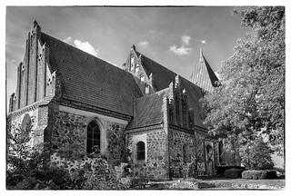 Kirche in Bobbin auf Rügen