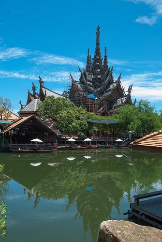 Tailand, Pattaya, Sanctuary of Truth.