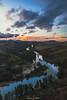 Shepherds Lookout (leonsidik.com) Tags: leon sidik fujifilm sunset landscape river stream water sun winter forest australia act canberra 2017