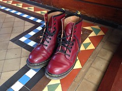 Polished Docs (Garibaldi McFlurry) Tags: ulsterrugby ulster rugby suftum polish polished red cherry docmartens boots docs