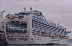 Emerald  Princess  Sun berthed at Canada Place Vancouver Canada (D70) Tags: emerald princess vessel cruise ship for cruises sun berthed canada place vancouver nikon d750 f3556 ƒ50 700mm 1320 100 2803000mm