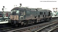 27/05/1969 - Shrewsbury, Shropshire. (53A Models) Tags: britishrailways sulzer type2 class24 d5055 diesel shrewsbury shropshire train railway locomotive railroad