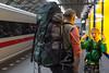 ICE at Amsterdam Central Station (2012) (TravelKees) Tags: dijkmannen kees thailand transportmiddel vakantie youri trein traintravel train railways railwaystation amsterdamcentralstation amsterdam railtravel ice