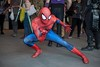 Spider-Sense 1 (l plater) Tags: spiderman peterparker marvelcomics darlingharbour sydney cosplay 2017ozcomiccon
