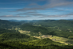 Bird's Eye View (Explore!) (riqwammy) Tags: nature natural mountains valley tree forest sky clouds view trail hike hiking path nikon d750 scenic at appalachiantrail virginia