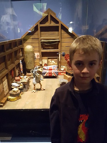 Aardman exhibition, ACMI: Cam with Fowler's cabin