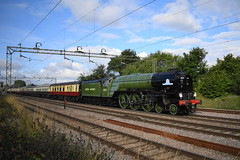 Day trip to the seaside (davidvines1) Tags: railroad rail train locomotive engine steamengine 60163 tornado classa1
