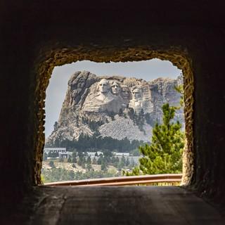 Faces through the tunnel