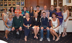 Lady Captain Mrs Florence Rankin's Captain's Day Prize Winners