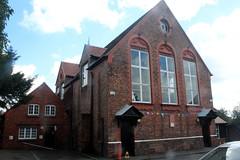 Woolton village hall (Davydutchy) Tags: liverpool england uk beatles quarrymen woolton village stpeterschurch stpeter stpeters church fete hall first meeting johnlennon paulmccartney august 2017
