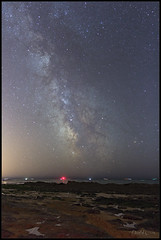20170821_Milky way on the beach (Clapiotte_Astro) Tags: canon700d tamron1750mm staradventurer milkyway voielactée plage summer astronomy flickrunited