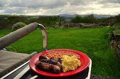 Camping breakfast (charlottehbest) Tags: charlottehbest wales april uk easter exploring penlan crickhowell breakfast camping