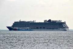 NORWEGIAN BREAKAWAY (MIKECNY) Tags: ship cruise norwegianbreakaway transportation water atlanticocean coneyisland