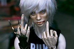 The daily duty ([Hisomu]) Tags: bjd abjd ball jointed doll edelweisssculpt edelweiss gagnon