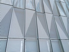 Shutters (Matthijs Borghgraef   Kwikzilver) Tags: explored explore matthijsborghgraef kwikzilver photography amsterdam dutch modern architecture facade detail perforations texture shutters building house zeeburgereiland oost instagram