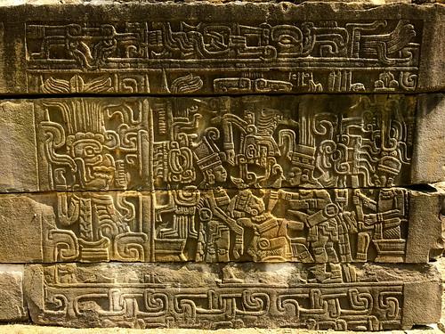 sacrifice bas relief 2, tajin