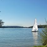 Chiemsee - Blick von der Fraueninsel auf den Chiemsee (1) thumbnail