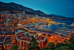The Other Side Of Monte Carlo (Stuck in Customs) Tags: monaco montecarlo stuckincustomscom treyratcliff monte carlo casino store circus travel trey ratcliff pool bath blue 80stays rcmemories treyratcliffcom hdr hd stuck in customs daily photo rr square colour color photography tutorial time red green orange yellow lights window wall 2017 ceiling ancient april landscape building glowing light night structure architect city view hassleblad x1d sunset clouds