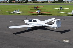 G-OCCU DA40 Diamond  Star (graham19492000) Tags: leeonsolent goccu da40 diamondstar