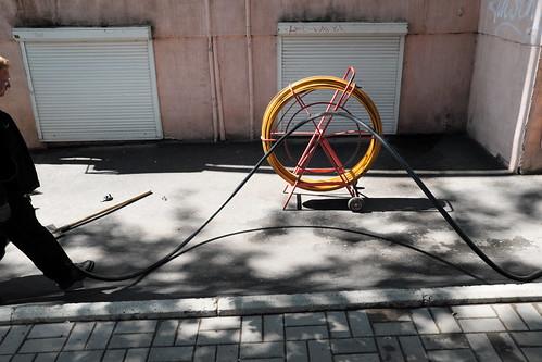 cable spool DSCF0092 Dmitri Bender Flickr
