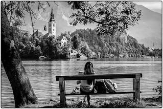 L'inconnue du lac !