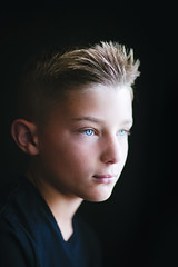 (Rebecca812) Tags: boy child portrait headshot blueeyes blondhair tween rightbeforemyeyes childhood growth canon rebecca812