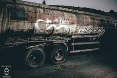 Trailer (Chris Haddleton Photography) Tags: nikon trailer abandoned graffiti old broken urbex urban aov truck strobist flash