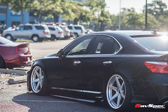 "WEKFEST 2017 NJ Ravspec WORK Zeast St 1 - Lexus LS Aimgain Widebody Kit • <a style=""font-size:0.8em;"" href=""http://www.flickr.com/photos/64399356@N08/36339600250/"" target=""_blank"">View on Flickr</a>"