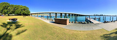 Wallis Lake Bridge from John Holland Park, Forster, NSW (Black Diamond Images) Tags: forster johnhollandpark forsterboatharbourpark forsterpark wallislakebridge bridge australianbridges wallislake greatlakesnsw forsternsw midnorthcoast nsw australia landscape coast iphone appleiphone7plus iphone7plus panorama appleiphone7pluspanorama iphone7pluspanorama iphonepanorama