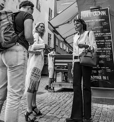 Mother and Daughter...    Stockholm / Sweden (mikeback-streetphotography) Tags: photo photooftheday photographer p couple streetphotographers stockholm streetphotography sweden streetart streetartistry streetarteverywhere street streetphoto streetlife streetstyle girls monochrome mono woman monochromatic gatufotografi girl blackandwhitephotography blackandwhite black blackwhite bw bnw beautiful urbanwalls urban urbanart city canon nikon mikeback mike back mikebackstreetphotography people