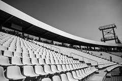 Innen C (Nihil Baxter007) Tags: innentribüne tribüne hockenheim stadion stdium sitzplätze seats sitze uhr clock hockenheimring ring racetrack track cars auto rennen race