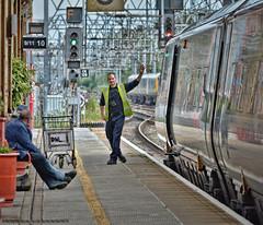 The Snap's In (whosoever2) Tags: england unitedkingdom uk gb greatbritain nikon d7100 2017 railway railroad train july crewe cheshire station virgin pendolino man