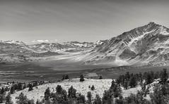 on a clear day... (Alvin Harp) Tags: february 2017 sonyilce7rm2 fe24240mm california us395 sierranevada roundvalley bishop naturesbeauty blackandwhite bwlandscape bwwinter bh mountainrange winterscene faintclouds alvinharp