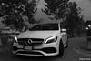 IMG_0362 (alberto.gentile89) Tags: auto car premium canon eos 7d nightscape night nightlife lights liguria mercedes aclass classe a amg bw black white german hot hatch