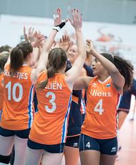 49152510 (roel.ubels) Tags: nederland oranje holland polen poland polska amsterdam sporthallen zuid volleybal volleyball oefenwedstrijd sport topsport 2017