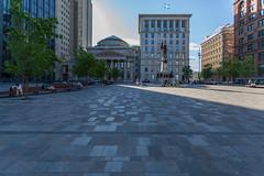 Plaza de Armas (José M. Arboleda) Tags: arquitectura edificio iglesia basílica plaza plazadearmas notredame montreal canada eos markii josémarboledac ef1740mmf4lusm canon 5d
