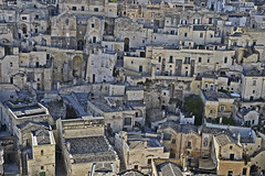 Matera atop (t.horak) Tags: matera walls roofs unesco italy italia town medieval grey houses windows