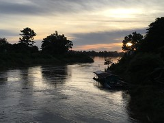 Sunset over the Mekong 2017-8-12 6 (SierraSunrise) Tags: mekong mekongriver nongkhai phonphisai reflections rivers skies sky sunset thailand water silhouette
