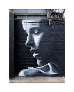 Street Art (SourEye), South East London, England.